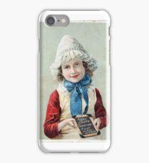 """Scott's Emulsion"" Victorian Card iPhone Case/Skin"