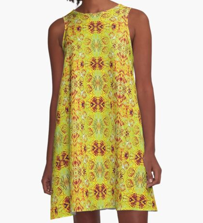Zen- I Am Sun-Centered A-Line Dress