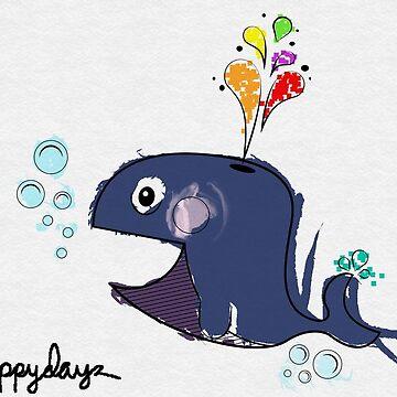 A Whale Swim  by fonzyhappydays