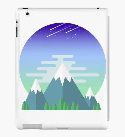 Space Mountians iPad Case/Skin
