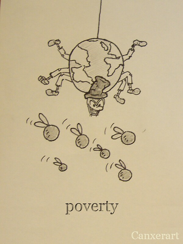 poverty by Max port