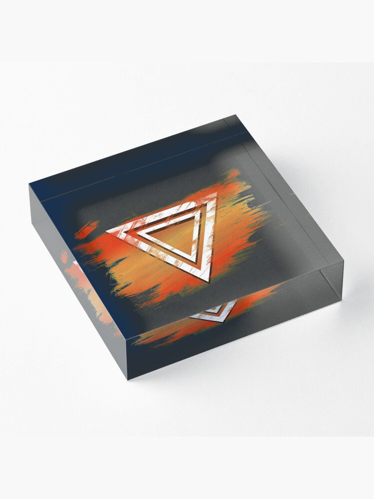 Alternate view of Jamon Paradigm Icon Acrylic Block