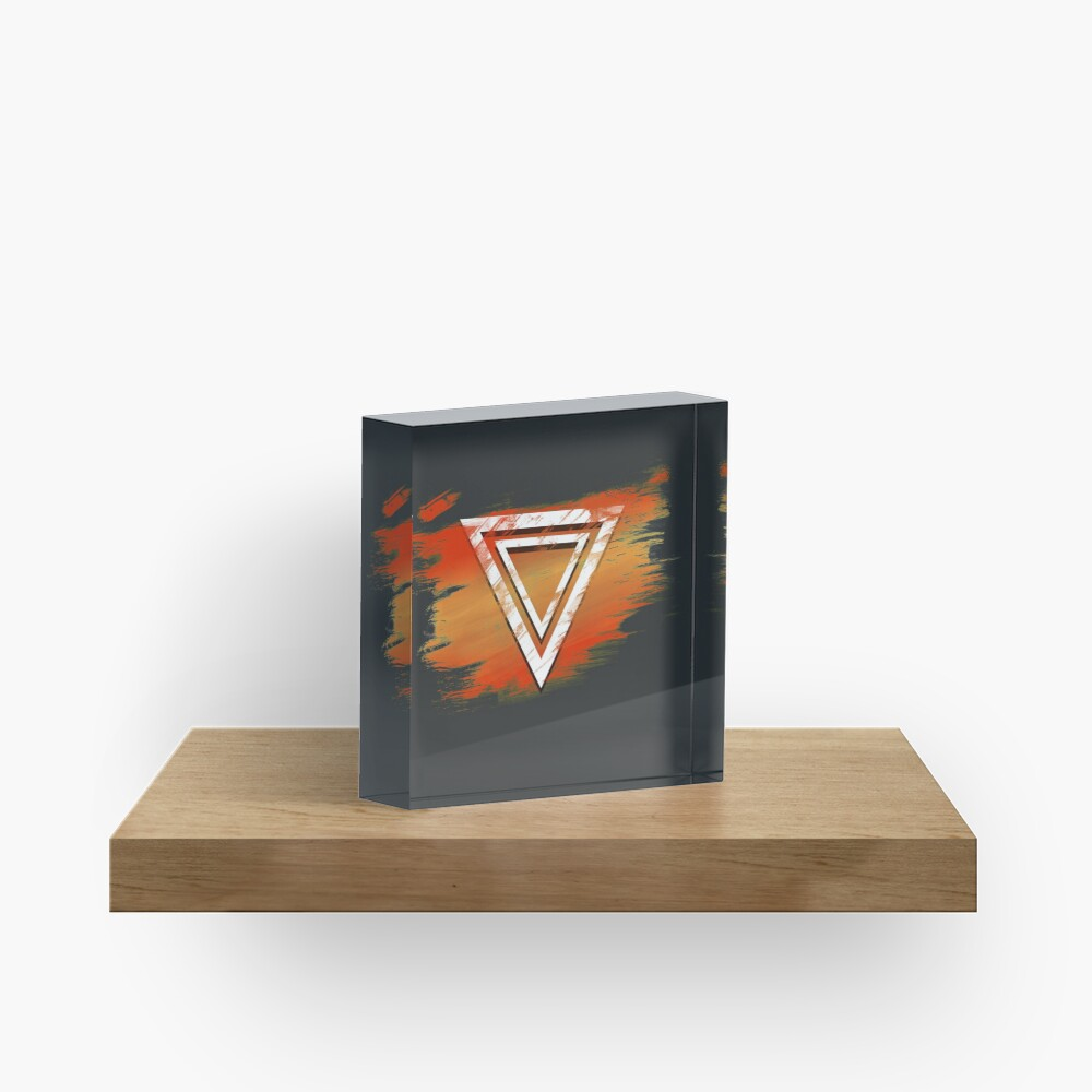 Jamon Paradigm Icon Acrylic Block