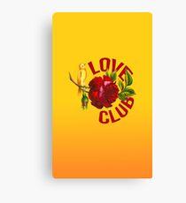 Love Club Canvas Print