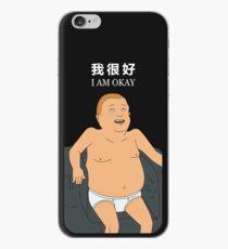 Bobby Hill - I Am Okay iPhone Case