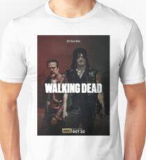 Daryl vs Negan Season 8 T-Shirt
