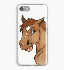 Louie Goose Pony! iPhone Case/Skin