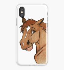 Louie Goose Pony! iPhone Case/Skin