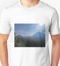 Mountain landscape of the Borneo rainforest, Malaysia T-Shirt