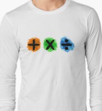 Plus Multiply Divide Album Watercolor T-Shirt