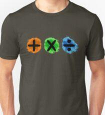 Plus Multiply Divide Album Watercolor T-Shirt
