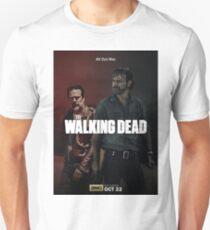 Rick vs Negan in Season 8 T-Shirt