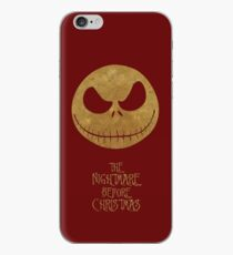 The Nightmare of Jacks Face iPhone Case