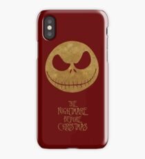 The Nightmare of Jacks Face iPhone Case/Skin