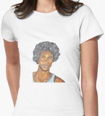portrait Women's Fitted T-Shirt