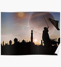 Faqirabad Prime Trinary Sunset !Pakistan Zindabad! Poster