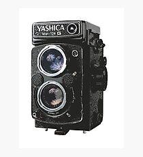 Yashica Mat-124G Photographic Print