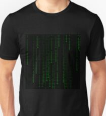 """Ethereum"" Cryptocurrency Matrix Print T-Shirt"