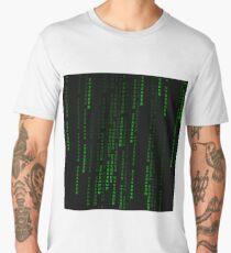 """Ethereum"" Cryptocurrency Matrix Print Men's Premium T-Shirt"