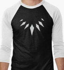 Black Panther Necklace Men's Baseball ¾ T-Shirt