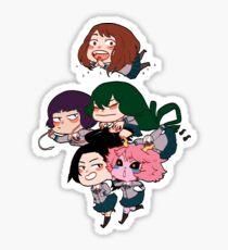 Class 1-A girls Sticker