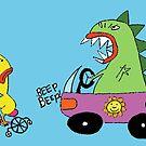 Beep beep! by robotpower