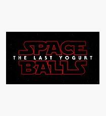 Spaceballs - The Last Yoghurt Photographic Print
