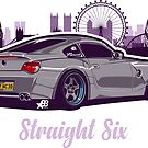 Straight Six Special V2 - Sticker by BBsOriginal