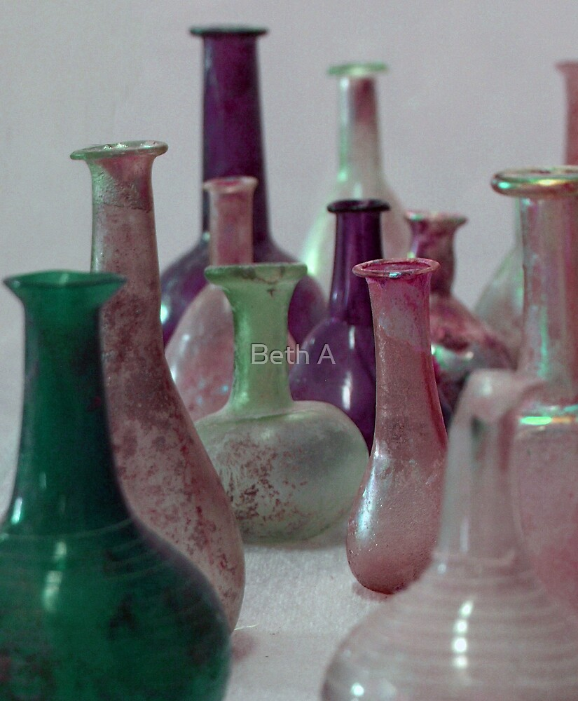 Bottles by Beth A