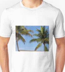 Blue Sky Island Palms T-Shirt