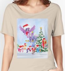 my little pony christmas Women's Relaxed Fit T-Shirt