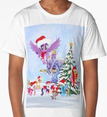 my little pony christmas Long T-Shirt