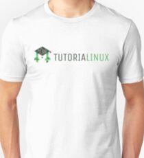tutorialinux Penguin logo, wide T-Shirt