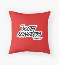 South Kongress Podcast Throw Pillow