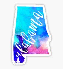 Alabama - Watercolor Sticker