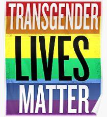 Transgender Lives Matter Poster