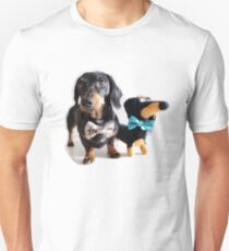 Ludo and Buddy the Dachshunds T-Shirt