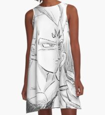 Majin Vegeta x Bulma A-Line Dress