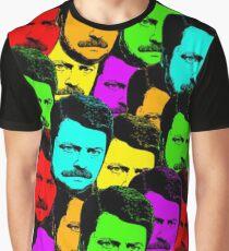 Parks & Rec - Ron Swanson Graphic T-Shirt