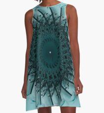 Blue Period A-Line Dress