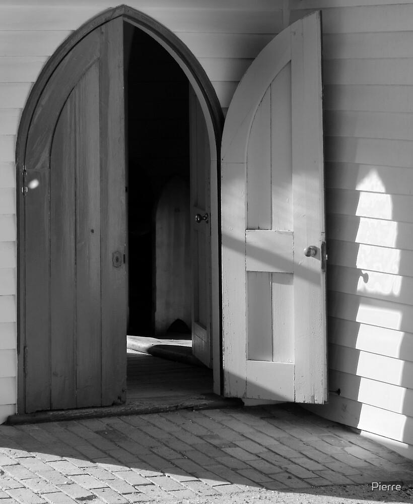 Open Door by Pierre