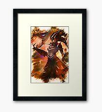 League of Legends SHYVANA Framed Print