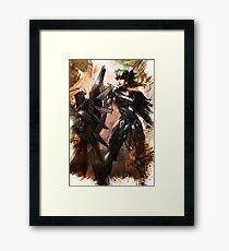 League of Legends LEONA Framed Print