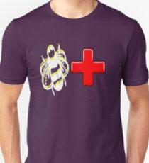 Bee positive - Be positive motivation T-Shirt
