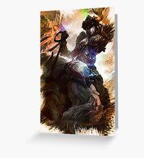 League of Legends SEJUANI Greeting Card