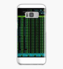 htop Linux Process Information Samsung Galaxy Case/Skin