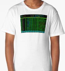 htop Linux Process Information Long T-Shirt