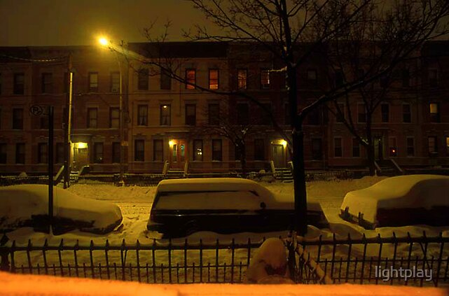 View from my apartment in Brooklyn by lightplay