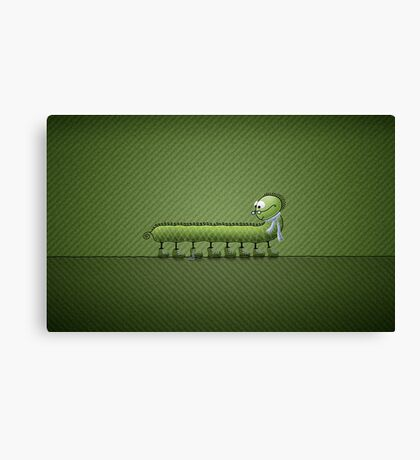 Little Problem (Green) Canvas Print