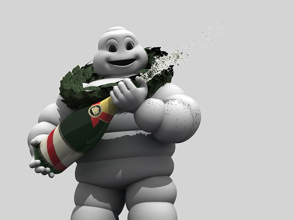 Michelin man by Voodoogfx